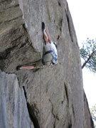Rock Climbing Photo: Slipping, Slipping, Shit