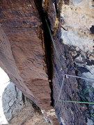 Rock Climbing Photo: the final pitch