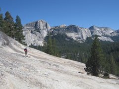 Rock Climbing Photo: End of another perfect day in Tuolumne - hike out ...