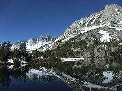 Rock Climbing Photo: Goode & Hurd from Long Lake