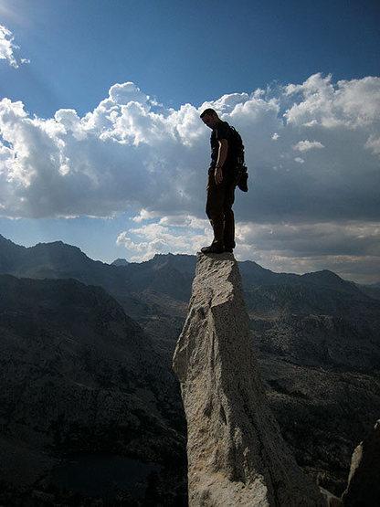 Rock Climbing Photo: one of the summit plateau pinnacles