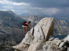 Rock Climbing Photo: fun despite the storms over South Lake