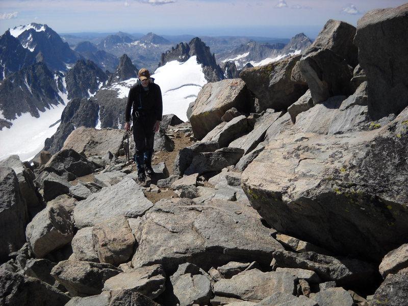 EJ, 50' from the Summit of Gannett