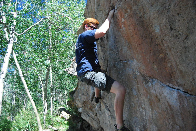 Rock Climbing Photo: Climbing in Crested Butte