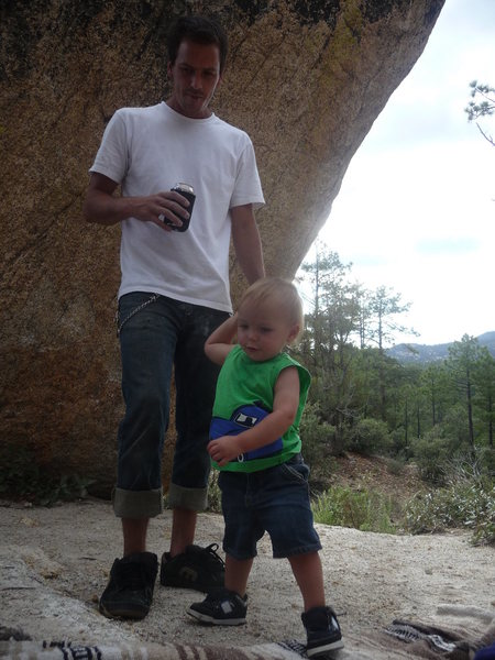 "Me and Holden at the ""Matterhorn"""