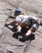 Rock Climbing Photo: TR on Raccoon Soup.