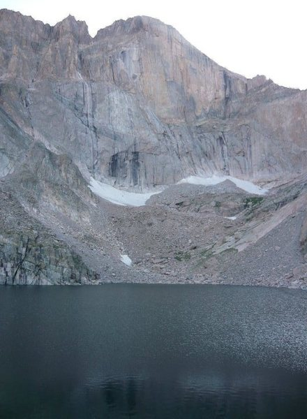 the view from chasom lake