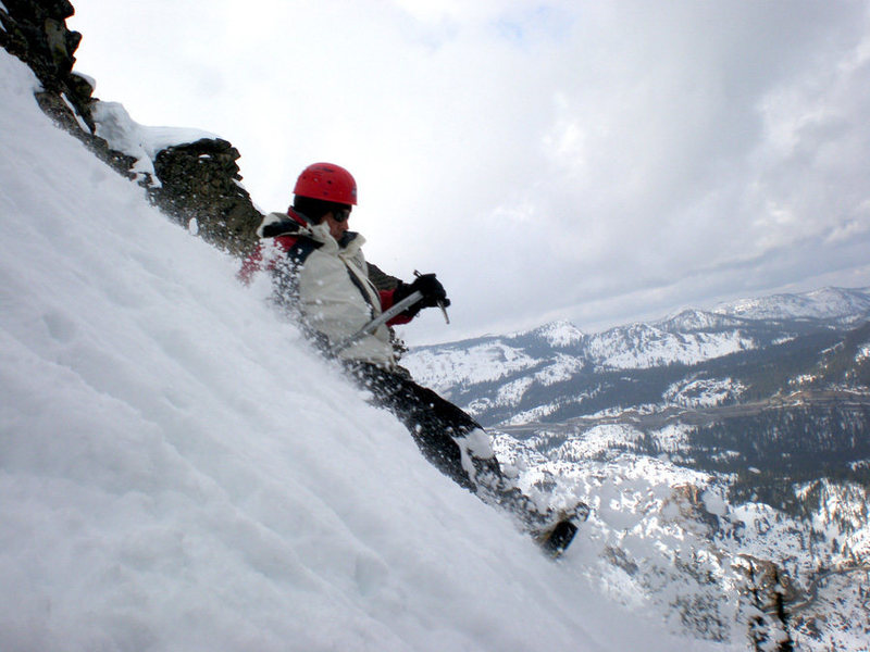 Glissade at Donner Peak