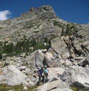 Rock Climbing Photo: Under Cooper Peak in the IPs.