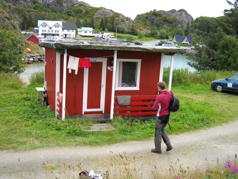 Rock Climbing Photo: Small cozy cabin at Orsvagaer