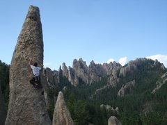 Rock Climbing Photo: Tricouni Nail, Needles, South Dakota