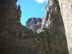 Rock Climbing Photo: It's double thumbs up looking NW from Pocketknife ...