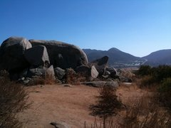 Rock Climbing Photo: Back of offwidth rock