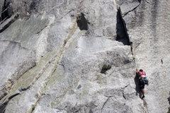 Rock Climbing Photo: Sweet, albeit short, route.