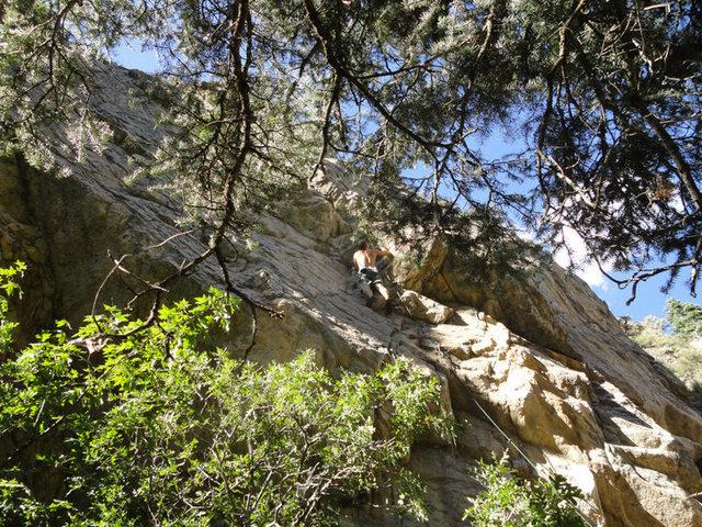 Rock Climbing Photo: Battalion of Saints