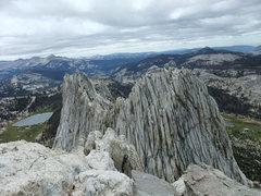 Rock Climbing Photo: N summit