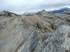 Rock Climbing Photo: starting the best part, the traverse after the N s...