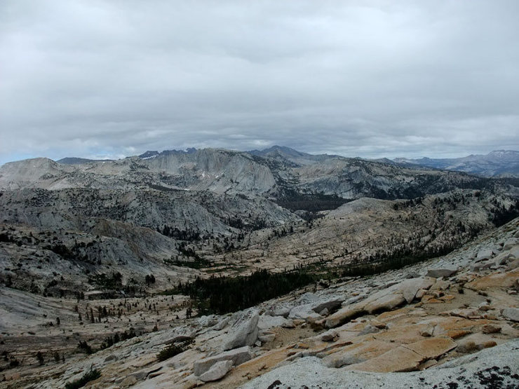 sea of granite