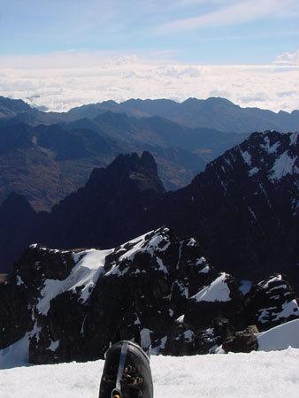Pequeño Alpamayo summit (Bolivia)