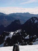 Rock Climbing Photo: Pequeño Alpamayo summit (Bolivia)