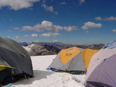 Rock Climbing Photo: Huayna Potosi high camp (Bolivia)