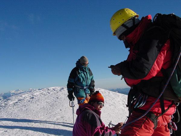 Rock Climbing Photo: Huayna Potosi summit (Bolivia)