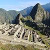 first light on Machu Picchu (Peru)