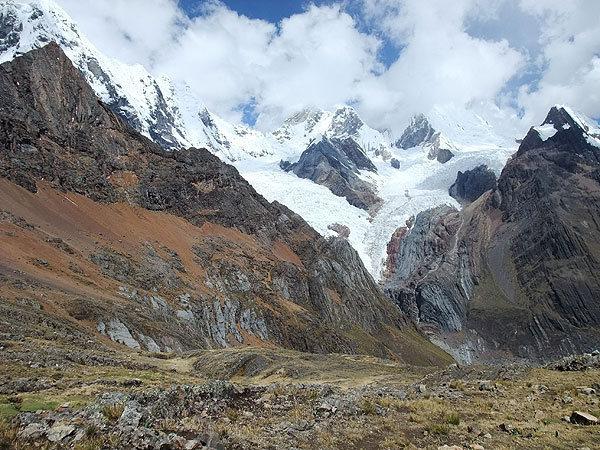 Cordillera Huayhuash: Mituraju, Jirishanca, and Yerupaja Chico