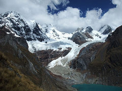 Rock Climbing Photo: Cordillera Huayhuash (Peru): glacial tarn