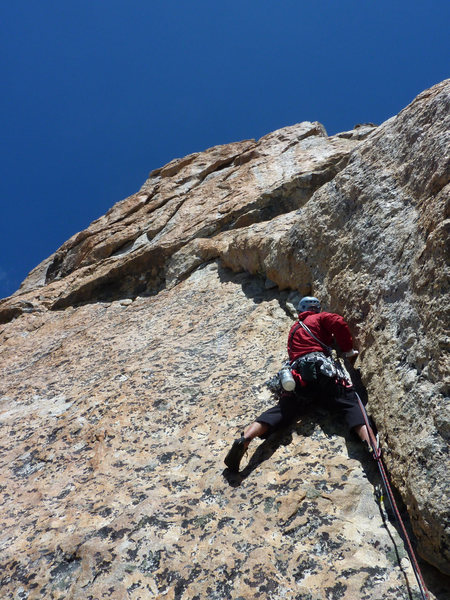 Brian Mulvihill on the start of pitch 2