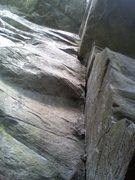 Rock Climbing Photo: strattle caster 5.9+