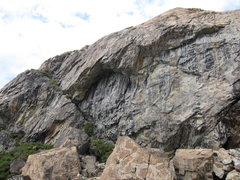 Rock Climbing Photo: Larry Land left side.