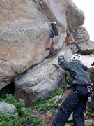 Rock Climbing Photo: wind river wy