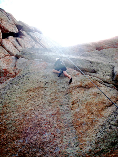 Rock Climbing Photo: wy