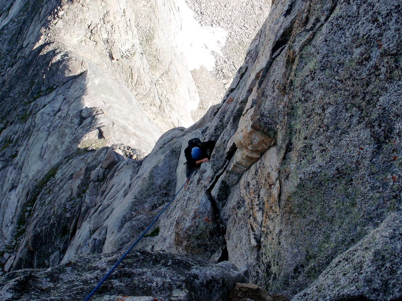 Rock Climbing Photo: steeple peak p2