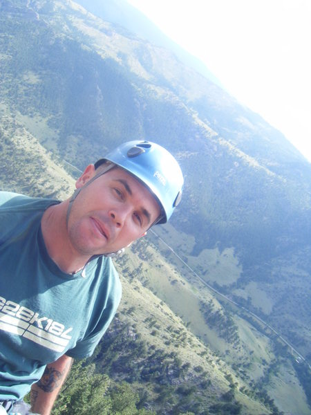 Rock Climbing Photo: at the monastery in CO