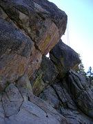 Rock Climbing Photo: A little overhung?