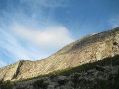 Rock Climbing Photo: What a beautiful cliff!