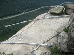 Rock Climbing Photo: Some of the remains of the effort to sustain the O...