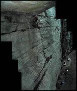Rock Climbing Photo: twilight on horseman.