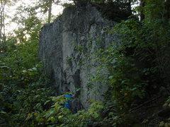 Rock Climbing Photo: moose boulders....highball!!