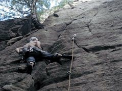 Rock Climbing Photo: bolt no.3?