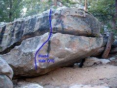 Rock Climbing Photo: Bored Walk (V3), Tramway