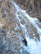 Rock Climbing Photo: Keen Butterworth lavishing in late August conditio...