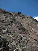 Rock Climbing Photo: Upper section.