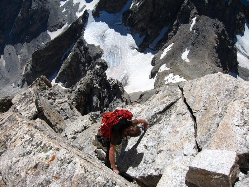 Keen Butterworth solos the super exposed V Pitch.