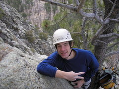 Rock Climbing Photo: Climbing Devils Tower