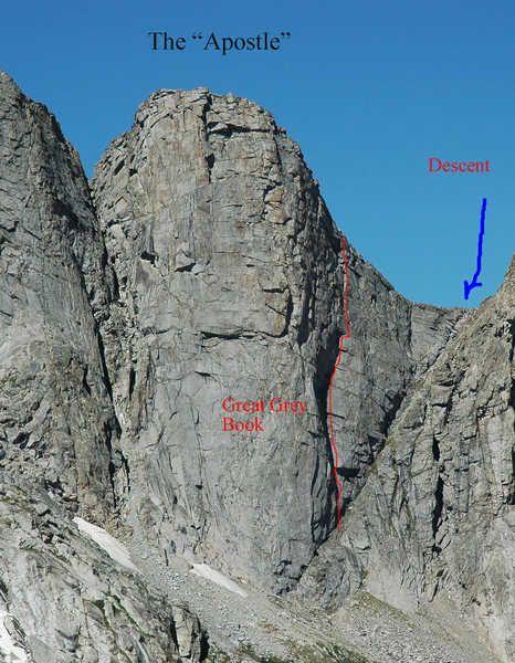 "Rock Climbing Photo: Photo of the ""Apostle"" formation with lo..."