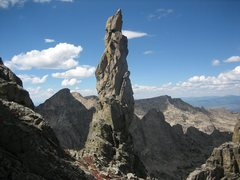 Rock Climbing Photo: Bishop's Scepter.