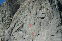 Rock Climbing Photo: Runnel Out close up photo